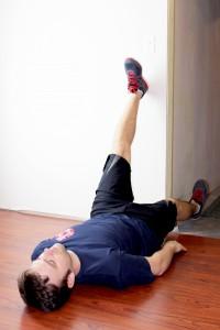 KM KM 5Tools lying hamstring stretch