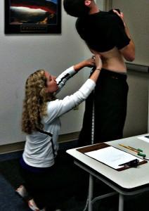 lumbar extension test