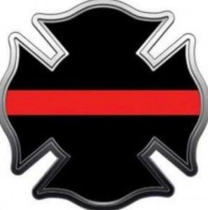 fireman death badge
