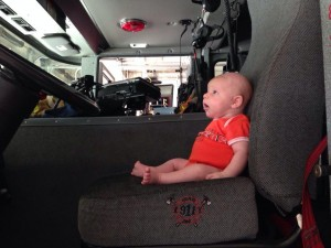 first visit to fire station