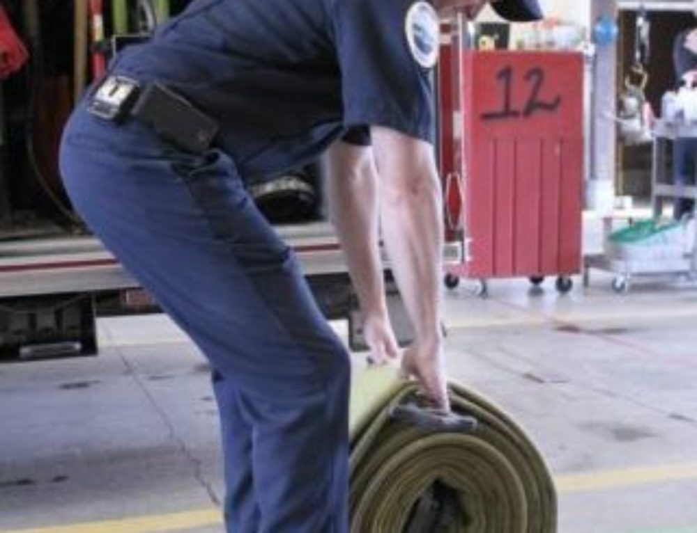 The most important thing firefighters must do while lifting: video